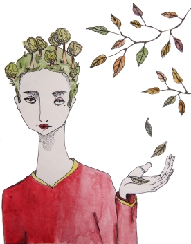 Always keep a forest on your head…