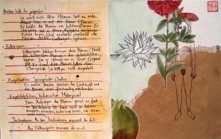 Das Flüstern über Blumen